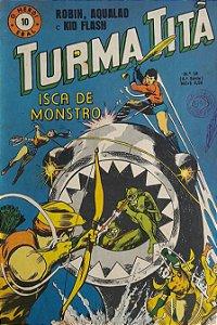 Turma Titã #10 Ebal 1969 O Herói 4a Série