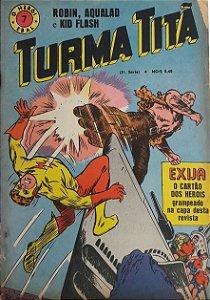 Turma Titã #7 Ebal 1969 O Herói 4a Série