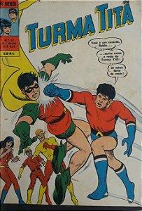 Turma Titã #27 Ebal 1971 O Herói 4a Série