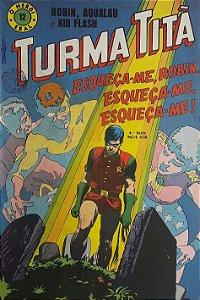 Turma Titã #12 Ebal 1969 O Herói 4a Série