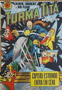 Turma Titã #13 Ebal 1969 O Herói 4a Série