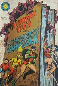 Turma Titã #14 Ebal 1969 O Herói 4a Série