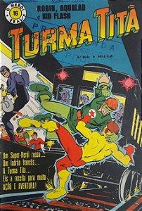 Turma Titã #16 Ebal 1970 O Herói 4a Série