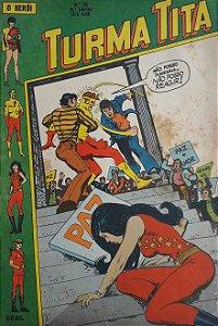 Turma Titã #35 Ebal 1971 O Herói 4a Série
