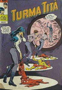 Turma Titã #24 Ebal 1970 O Herói 4a Série