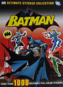 Ultimate Sticker Collection Batman Importada