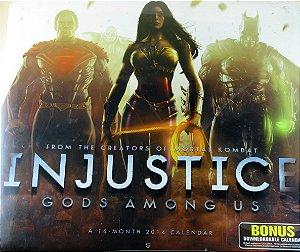DC Calendário 2014 Injustice Gods Among Us