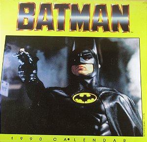 DC Calendário 1990 Batman o Filme