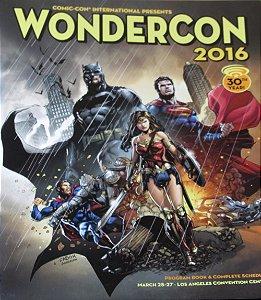 Revista Comic-Con International Wondercon 2016 Importada
