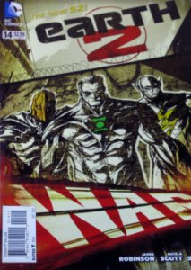 DC Comics Earth 2 War #14 Importada