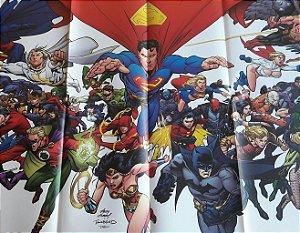 Poster Liga da Justiça Sociedada da Justiça Panini