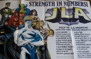 Poster JLA Strength In Numbers