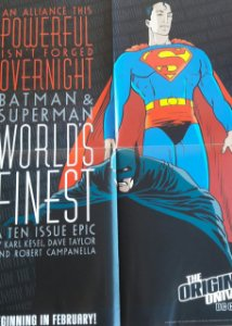 Poster Batman Superman Worlds Finest