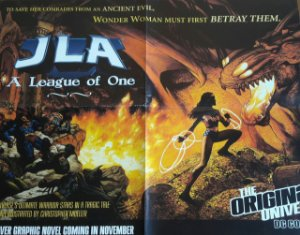 Poster JLA A League of One