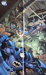 Poster Batman + Batman com Vilões