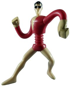 McDonald´s 2011 Plastic Man Brave and Bold (Homem Borracha) Loose