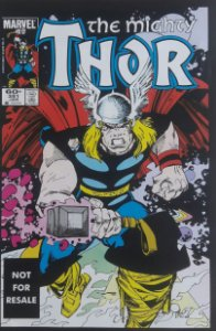 The Mighty Thor #351 Importado Re-Edição Marvel Legends