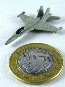 Miniatura Avião Caça militar Genêrico 01