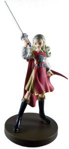 Square-Enix Dragon Quest X Anrusia Angusia Figure Loose