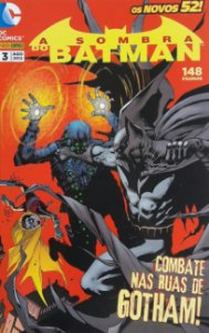 A Sombra do Batman #3 Os Novos 52 Ed. Panini