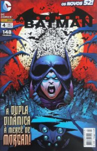 A Sombra do Batman #4 Os Novos 52 Ed. Panini