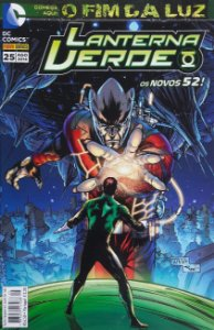 Lanterna Verde #25 Os Novos 52 Ed. Panini