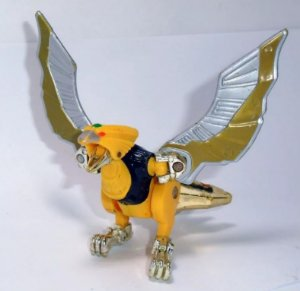 Gaorangers / Power Rangers Força Animal Zord Megazord Gao Eagle Ko