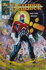 Excalibur #1 Importada Re-Edição Marvel Legends