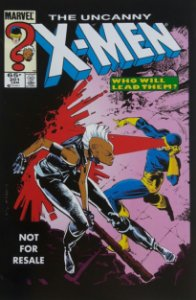 Uncanny X-men #201 Importado Re-Edição Marvel Legends