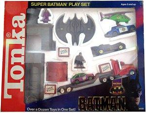 Tonka 1990 DC Dark Knitght Collection Super Batman Playset Raro
