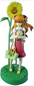 Bandai Evangelion Portraits Asuka Sunflower Diorama Raro