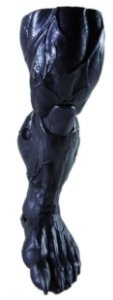 Hasbro 2018 Marvel Legends Baf Venom Perna Esquerda
