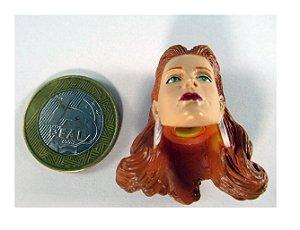 Mattel DC Direct Justice Cabeça Hawkgirl (Mulher Gavião)
