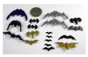 DC Batman Lote Batarangues Escalas diversas
