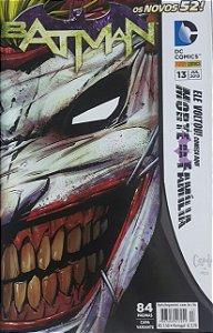 Batman #13 Os Novos 52 Ed. Panini
