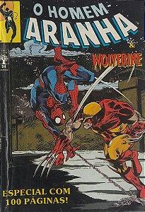 Homem-Aranha #94 - Ed. Abril Wolverine