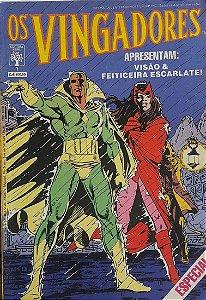 Os Vingadores #1 - Visão e Feiticeira Escarlate