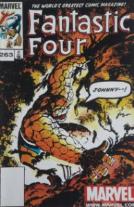 Fantastic Four #263 Importada Re-Edição Marvel Legends