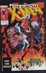Uncanny X-men #243 Importado Re-Edição Marvel Legends