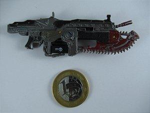 "Acessório Neca  Arma Lancer Gears Of War #04 3/4"""