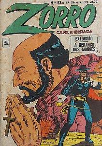 Zorro Capa e Espada 1a Série #52 Ebal