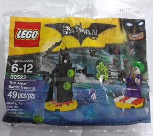 Lego DC Batman The Movie The Joker Battle Training 30523 49 Peças