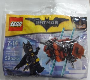 Lego DC Batman The Movie Batman in the Phantom Zone 30522 59 Peças