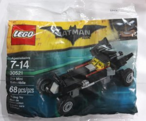 Lego DC Batman The Movie Batman the Mini Batmobile 30521 68 Peças
