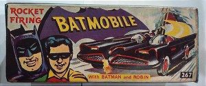 Caixa Corgi Batmobile Rocket Firing (Réplica)
