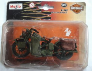 Maisto Moto Harley Davidson 1:18 Die-Cast Réplica