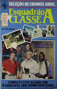 Esquadrão Classe A Seleção de Cromos Abril Livro Ilustrado 1986