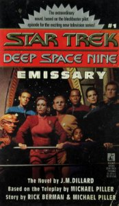 Star Trek Deep Space Nine Emissary Importado