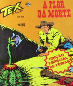 Tex #65 A Flor da Morte Edit Vecchi