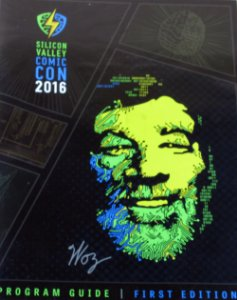 Sililicon Valley Comic Con 2016 Program Guide First Edition Importado
